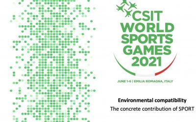 THE FIRST GREEN EVENT OF THE CSIT WITH SOPHISTICATED COVID-19 CONCEPT
