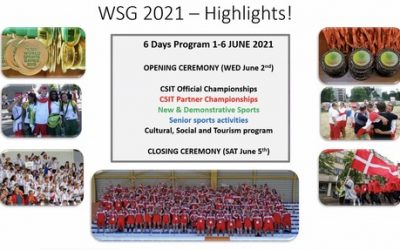 LAUNCH OF CSIT WORLD SPORTS GAMES 2021 AT THE CONGRESS